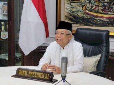 Wapres Ma'ruf Amin Sebut Potensi Wakaf Rp180 Triliun Mampu Dorong Pembangunan Nasional