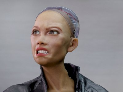 FOTO: Robot Humanoid Akan Diproduksi Secara Massal