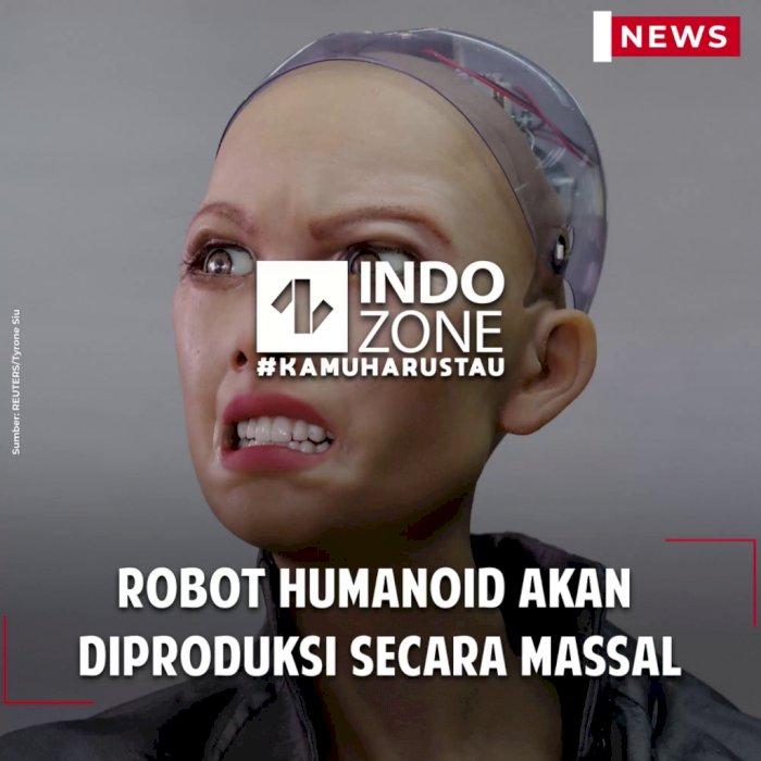 Robot Humanoid Akan Diproduksi Secara Massal
