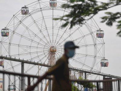 FOTO: Terdampak COVID-19, Suroboyo Carnival Park Berhenti Beroperasi