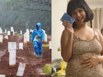 POPULER: Anies Beli Lahan Makam Rp185 M hingga Vanessa Angel Goda Suami Sambil Pegang Ini