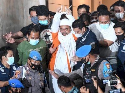 Pastikan Kondisi Habib Rizieq Sehat, Polisi: Kalau Ada Isu Sakit Keras Itu Bohong