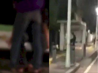 Wanita Viral yang Mesum di Halte Jakpus Disebut Polisi Beraksi Dalam Keadaan Tak Mabuk