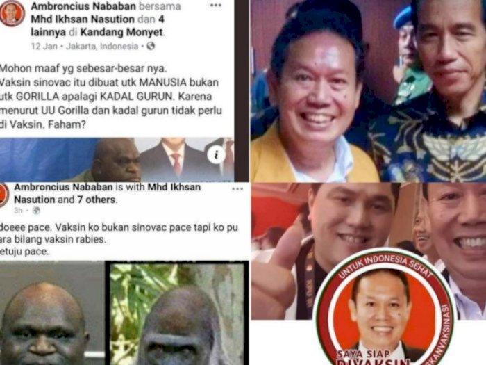 """Ambroncius Akui Posting """"Sindir"""" Natalius Pigai: Sifatnya Itu Satire"""