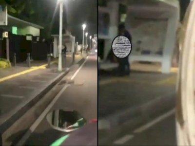 Sejoli Pelaku Mesum di Halte Jakarta Pusat yang Viral Diciduk Polisi