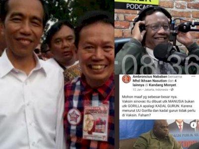 Natalius Pigai Alami Rasis Diduga dari Oknum Relawan Jokowi, Cuitan Mahfud MD Mengejutkan!