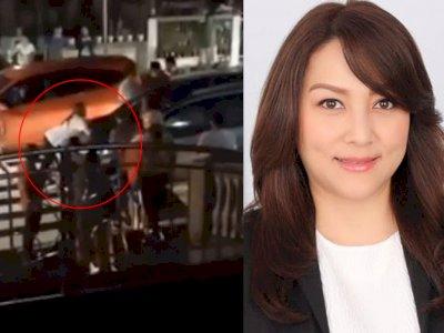 Viral Video Suami Seret Istri di Atas Kap Mobil, Diduga Pergoki Wakil Ketua DPRD & Pelakor