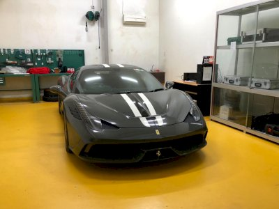 Pihak Kejagung Lelang Unit Ferrari 458 Speciale, Harga Mulai Rp6,4 Miliar!