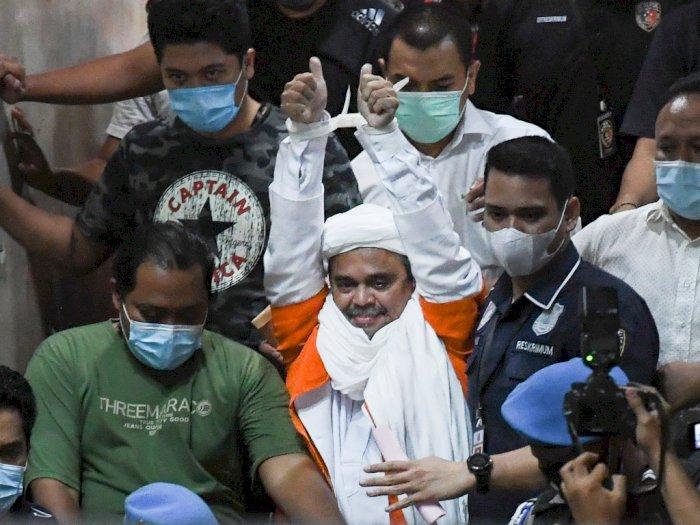 Polisi Sebut Habib Rizieq Shihab dalam Keadaan Sehat