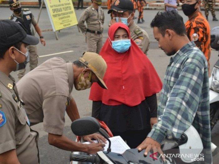 Terkumpul Rp502 Juta PPKM di Jatim, 1,9 Juta Warga Terjaring Operasi Yustisi