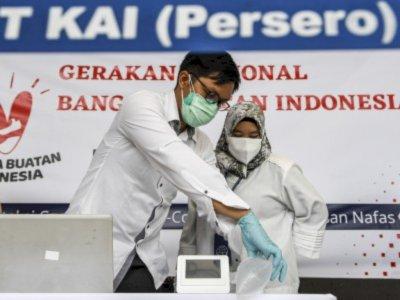 PT KAI akan Gunakan Alat Karya Anak Bangsa 'GeNose' untuk Deteksi Virus Corona