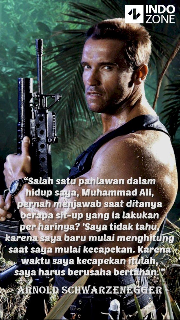 Kutipan (quotes) Arnold Schwarzenegger