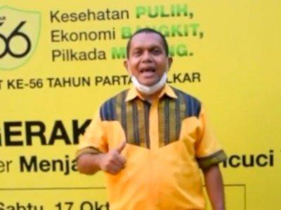 Viral Suap-suapan Tumpeng Pakai Satu Sendok di Acara PDIP, DPR: Ingat Protokol Kesehatan!