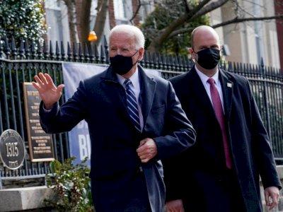 Usai Dilantik Jadi Presiden, Joe Biden Kunjungi Gereja dan Bisnis Lokal
