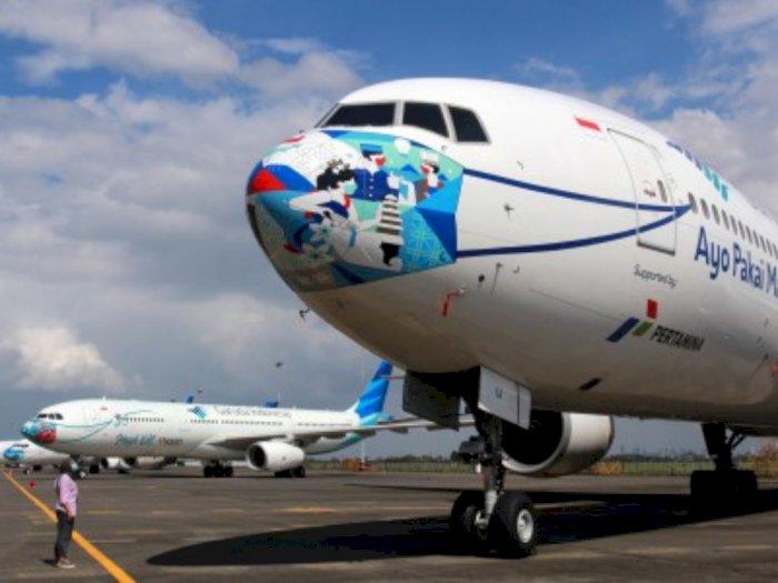 Demi Keamanan, Garuda Indonesia Grup Berkomitmen Perhatikan Jadwal Perawatan Pesawat