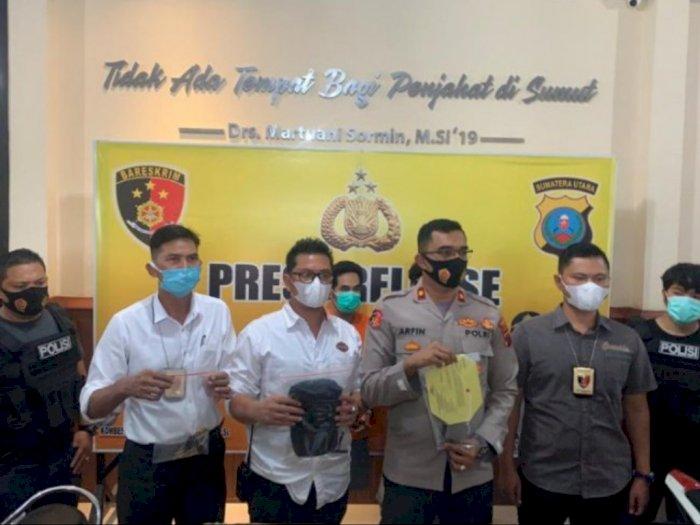 Melawan Saat Diamankan, 2 Pelaku Curanmor di Medan Ditembak Petugas Polisi