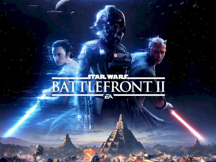 Digratiskan 1 Minggu, Star Wars Battlefront II Sukses Diklaim 19 Juta Users di EGS
