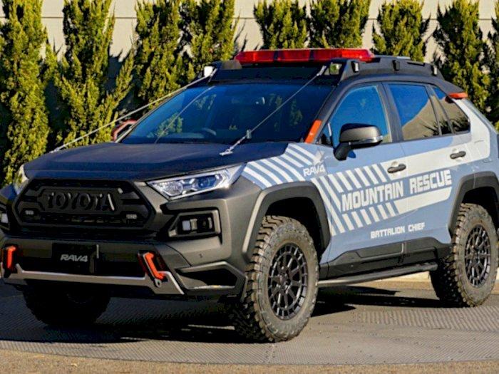 Toyota RAV4 Berhasil Dirombak Jadi Gagah dan Agresif untuk Misi Penyelamatan!