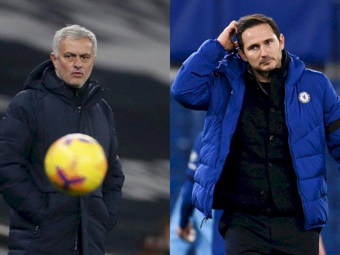 Pernah Senasib dengan Lampard Dipecat Chelsea, Mourinho: Sepak Bola Modern Makin Sadis