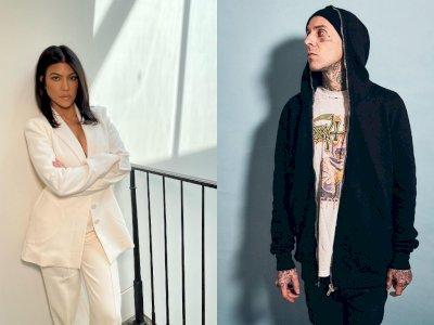 Kourtney Kardashian dan Travis Barker Dikabarkan Resmi Berpacaran