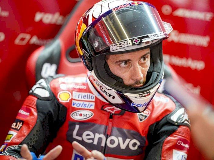 Gantikan Marc Marquez, Andrea Dovizioso Siap Dites di Pabrikan Honda