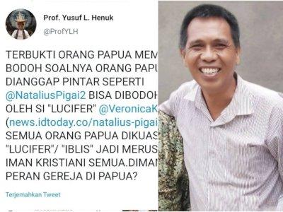 Terungkap, Profesor USU yang Sebut Orang Papua Bodoh, Pernah Minta Jatah Menteri ke Jokowi