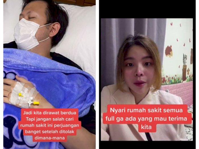 Perjuangan Suami-Istri Cari Rumah Sakit saat Terpapar Covid-19, Ditolak karena Penuh