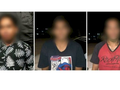 Tiga Pemuda Ini Diciduk Polisi saat Pesta Narkoba di Tengah Kesedihan Musibah Gempa Mamuju