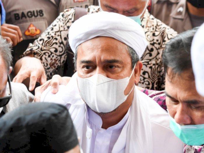 Polri Jelaskan Kondisi Habib Rizieq Shihab Sehat Walafiat di Rutan Bareskrim
