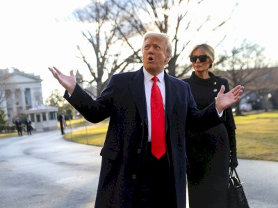 Setelah Tinggalkan Gedung Putih, Trump Kini Buka 'Kantor Mantan Presiden'