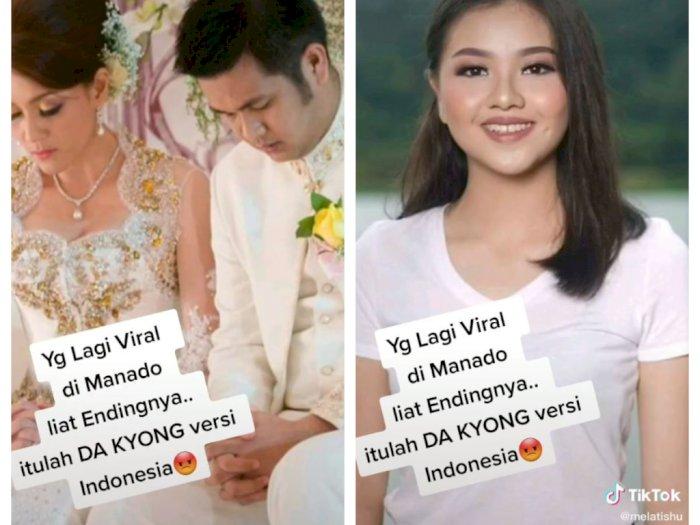 Pelakor yang Rebut Suami Michaela Paruntu Dianggap Mirip Da Kyung Versi Indonesia