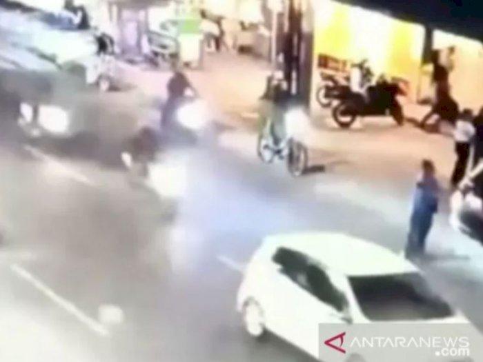 Geger Pesepeda Dipepet dan Akhirnya Dibegal, Polisi Buru Anggota Geng Motor Ini