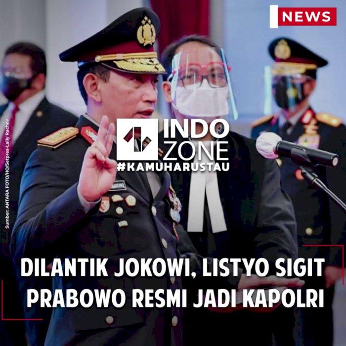 Dilantik Jokowi, Listyo Sigit Prabowo Resmi Jadi Kapolri