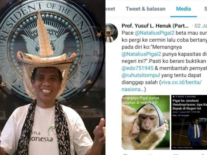 Guru Besar USU Ini Kembali Bikin Heboh Sandingkan Foto Aktivis HAM dengan Monyet