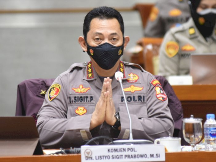 Pelantikan Kapolri Jenderal Listyo Sigit Menerapkan Protokol Kesehatan Ketat