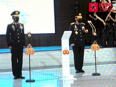 Usai Dilantik Presiden, Listyo Sigit dan Idham Azis Serah Terima Jabatan Kapolri
