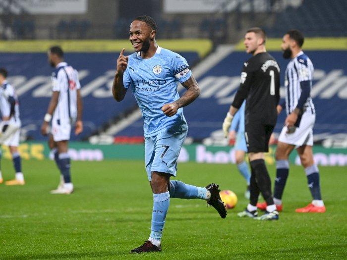 Hajar West Brom 5-0, Man City Ambil Alih Puncak Klasemen Liga Inggris