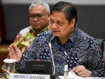 """Jurus"" Menko Airlangga untuk Pulihkan Ekonomi 2021-2022"