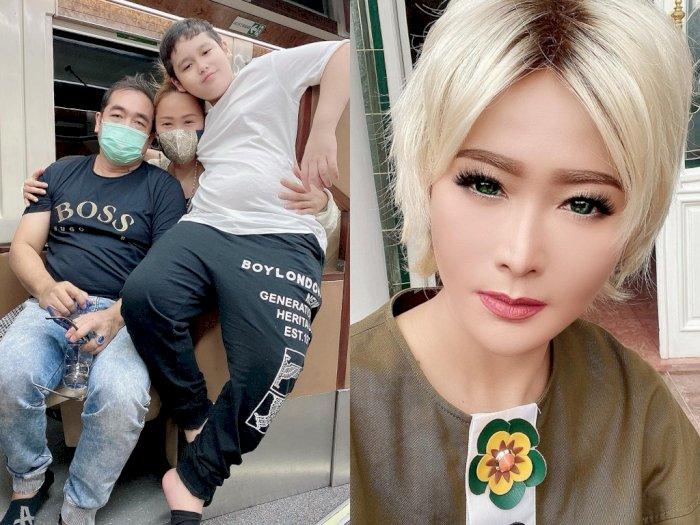 Unggah Foto Anak & Suami, Inul Daratista: Suami Tidur Pakai Masker Karena Ngoroknya Banter
