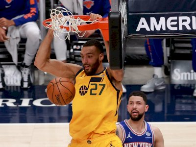 FOTO: Utah Jazz Kalahkan New York Knicks 108-94