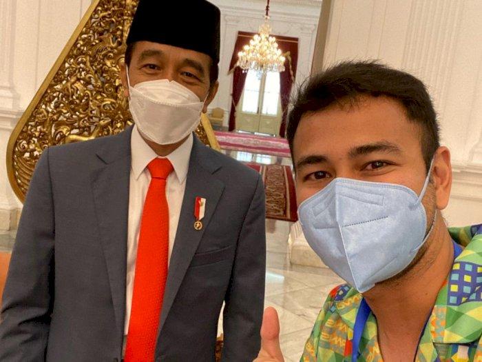 Raffi Ahmad Foto Bareng Jokowi Usai Divaksin, Netizen Ingatkan Jangan Langsung Nongkrong