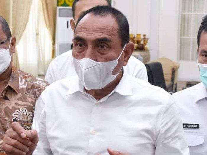Terkait Pergantian Rektor USU, Gubernur Edy: Besok Muryanto Amin Dilantik Jam 2