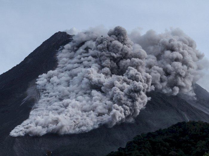 FOTO: Erupsi Gunung Merapi