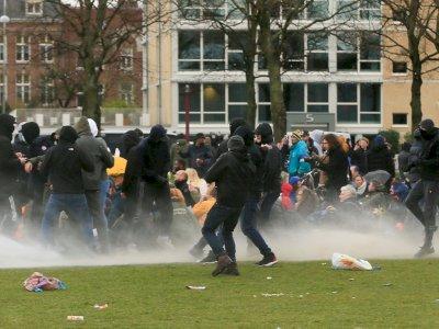 Protes Kebijakan Jam Malam karena Covid-19, Belanda Dilanda Kerusuhan Sampai 3 Malam