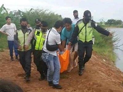 Pilu, Wanita Hamil Tenggelam di Danau, Diduga Pengantin Baru, Ada Gaun Pengantin di Lokasi