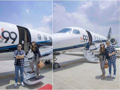 Beli Jet Pribadi Seharga Rp280 Miliar, Gilang Juragan 99: Harganya Terjangkau Tapi Mewah