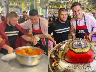 Video Saat Khabib Nurmagomedov Berkali-kali Kena Prank Chef Terkenal, Bikin Ngakak