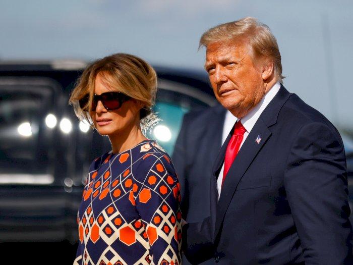 Teman Dekat Donald Trump Pastikan Bahwa Melania Tidak Akan Bercerai dengan Trump