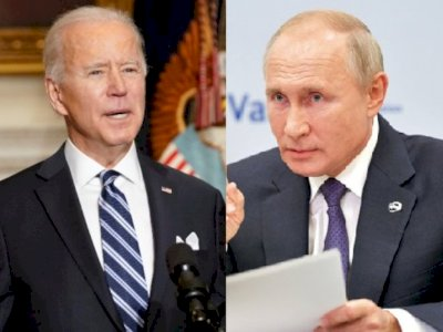 Komunikasi Perdana Biden dan Putin Via Telepon, Apa Saja yang Dibicarakan?
