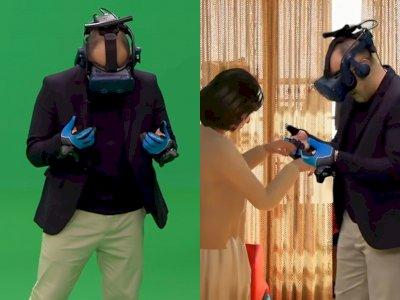 Sedih! Pria Ini Bertemu Kembali dengan Istrinya yang Meninggal Melalui Virtual Reality